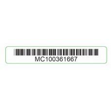 Game Boy Micro [GBM] Serial Sticker [MC100361667]