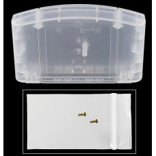 Nintendo 64 Cartridge Shell [Clear]