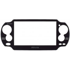 PS Vita Model 1000 Front Faceplate [Black]