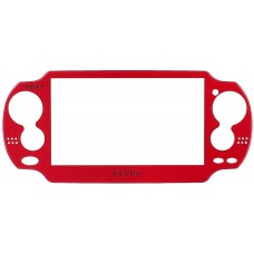 PS Vita Model 1000 Front Faceplate [Red]